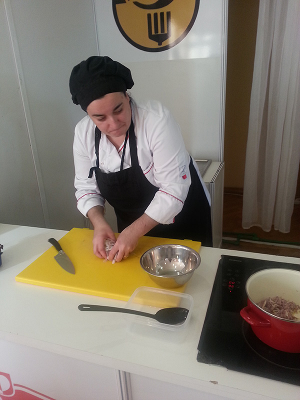 Lady chef Jasna