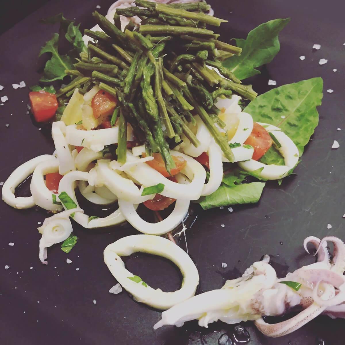Lignje salata